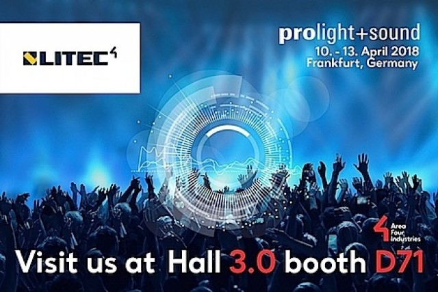 Litec a Prolight+Sound 2018