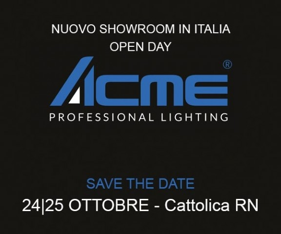 Apre a Cattolica lo showroom ACME