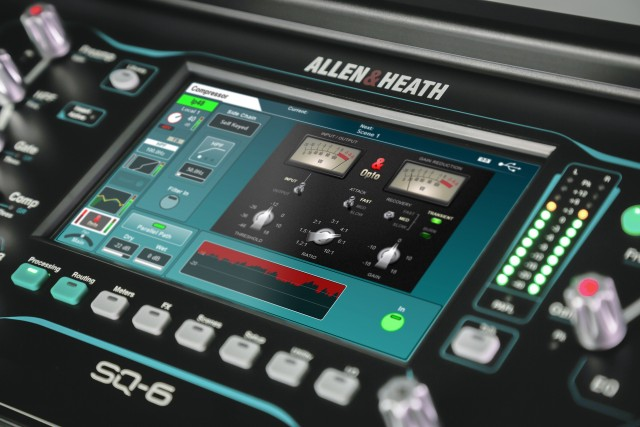 Allen & Heath porta i plug-in DEEP nella serie SQ