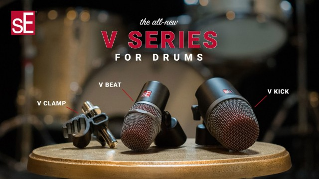 sE Electronics – V Series for drums