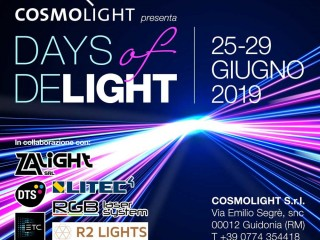 DAYS of DELIGHT - L'evento per professionisti della luce