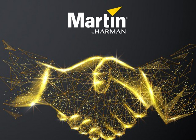 Harman nomina Exhibo distributore di Martin by Harman per l'Italia
