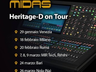 Midas Heritage-D On Tour