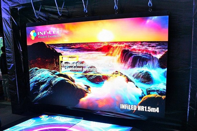 InfiLED Serie HR a ISE 2020