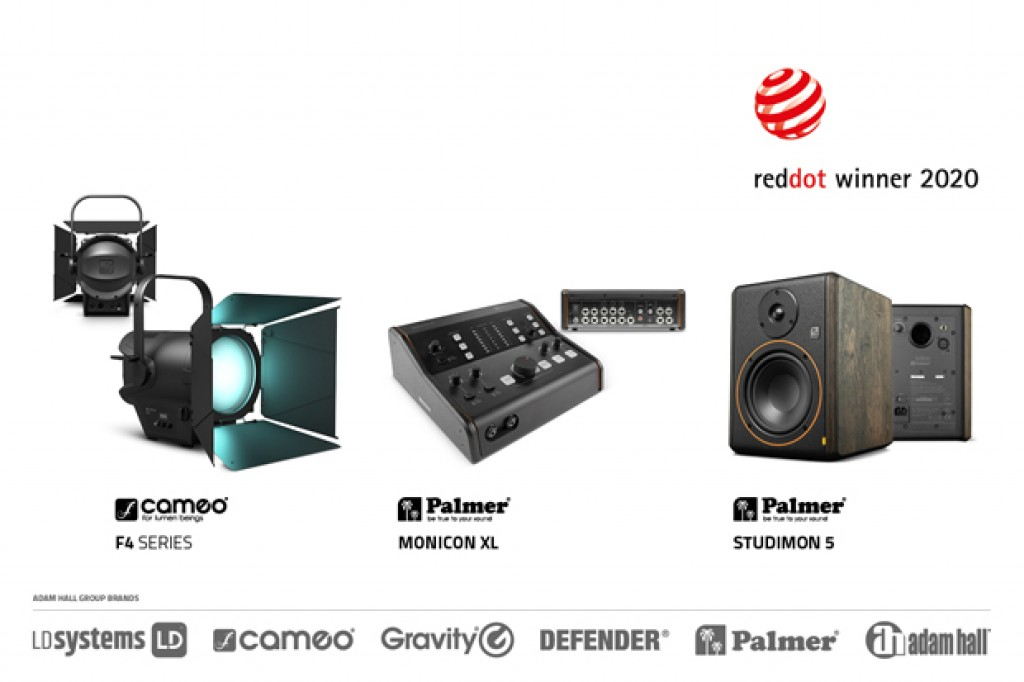 Red Dot Award 2020 a Cameo F4 e Palmer MONICON XL