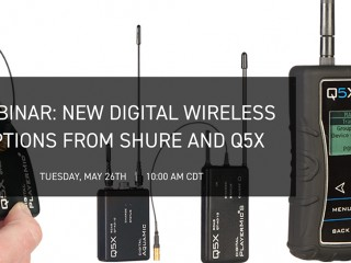 Webinar Shure sui sistemi wireless