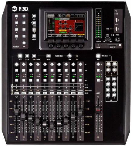 RCF M 20X – Desktop Digital Mixer