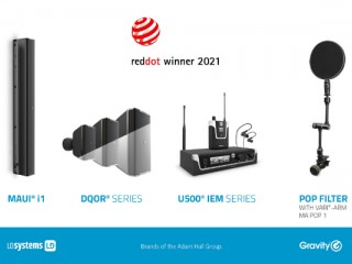 Red Dot Award 2021 per LD Systems e Gravity