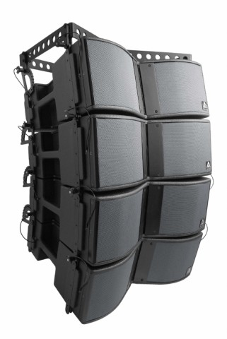 Master Audio X‑208  Sistema Line Array