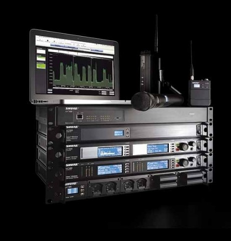 Shure Axient - Wireless Management Network