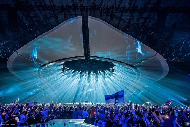 Eurovision Song Contest 2017 - Il lighting alla Finale di Kiev