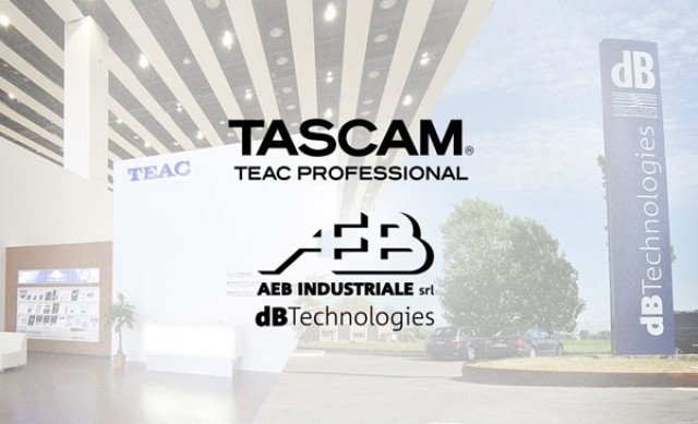 AEB-dBTechnologies distribuisce TASCAM