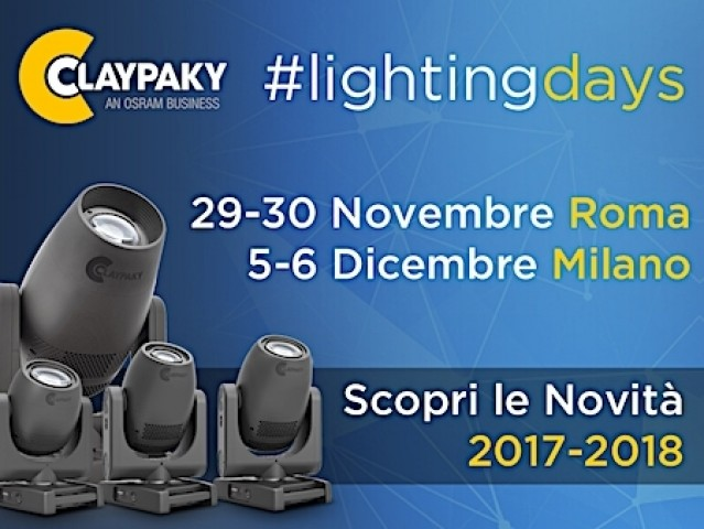 Claypaky e ADB #LIGHTINGDAYS